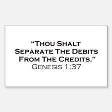 Credits / Genesis Decal