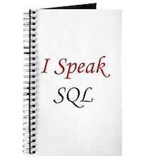 """""""I Speak SQL"""" Journal"""