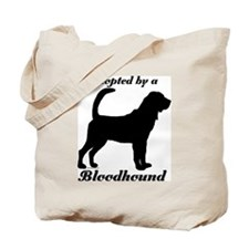 ADOPTED by Bloodhound Tote Bag
