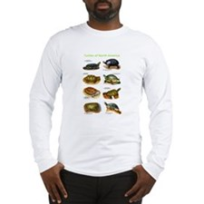 Turtles of North America Long Sleeve T-Shirt
