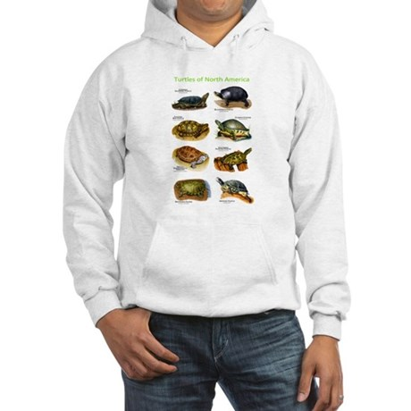 Turtles of North America Hooded Sweatshirt