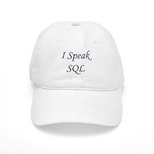 """""""I Speak SQL"""" Baseball Cap"""