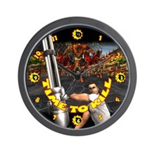 Serious Action Clock