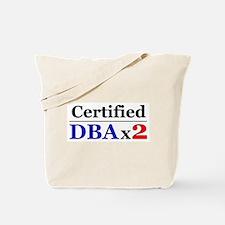 """DBAx2"" Tote Bag"