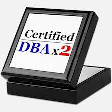 """DBAx2"" Keepsake Box"
