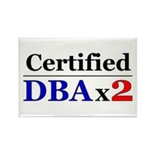 """DBAx2"" Rectangle Magnet"