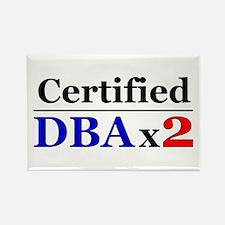 """DBAx2"" Rectangle Magnet"