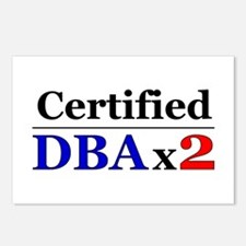 """""""DBAx2"""" Postcards (Package of 8)"""