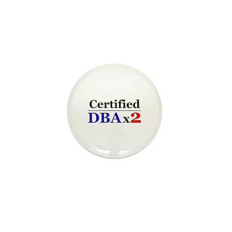 """DBAx2"" Mini Button (100 pack)"