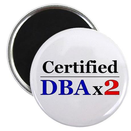 """DBAx2"" Magnet"
