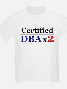 """""""DBAx2"""" Kids T-Shirt"""