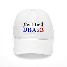 """DBAx2"" Baseball Cap"