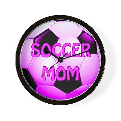 Soccer Mom #1 Wall Clock