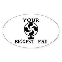 Biggest Fan Decal