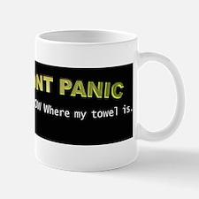 dont panic Mugs