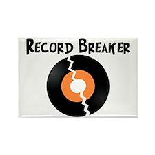 Record Breaker Rectangle Magnet (100 pack)