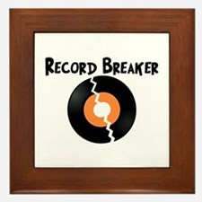 Record Breaker Framed Tile