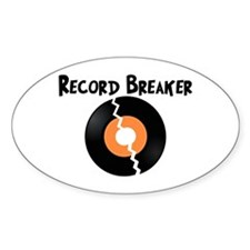 Record Breaker Decal