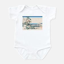 Hokusai Tea House Koishikawa Infant Bodysuit