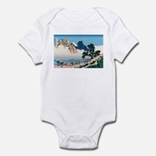 Hokusai Minobu River Infant Bodysuit