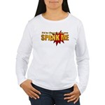 """Spank Me!"" Women's Long Sleeve T-Shirt"