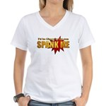 """Spank Me!"" Women's V-Neck T-Shirt"
