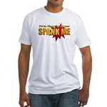 """Spank Me!"" Fitted T-Shirt"