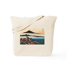Hokusai Dawn at Isawa Tote Bag