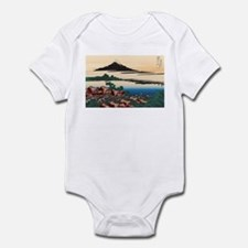 Hokusai Dawn at Isawa Infant Bodysuit
