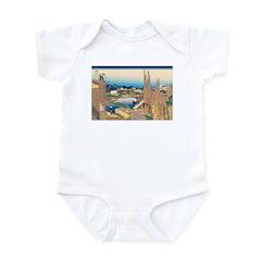 Hokusai Honjo Tatekawa Infant Bodysuit