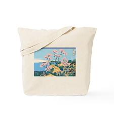 Hokusai Gotenyama Hill Tote Bag
