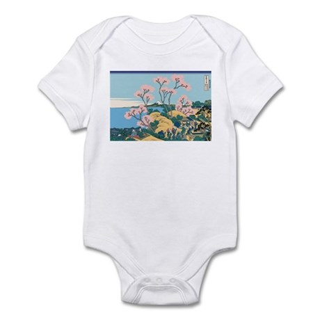 Hokusai Gotenyama Hill Infant Bodysuit