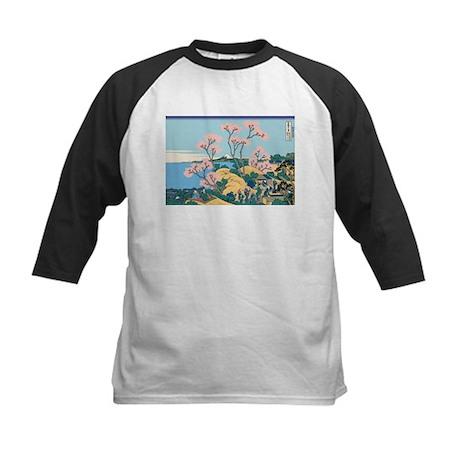 Hokusai Gotenyama Hill Kids Baseball Jersey