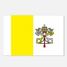 Vatican Flag Postcards (Package of 8)