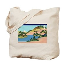 Hokusai The lake of Hakone in Sagami Province Tote