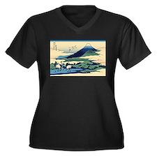 Hokusai Umegawa in Sagami Province Women's Plus Si