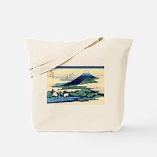 Hokusai Umegawa in Sagami Province Tote Bag