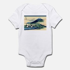 Hokusai Umegawa in Sagami Province Infant Bodysuit