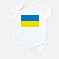 Ukraine Flag Infant Creeper