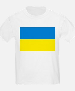 Ukraine Flag Kids T-Shirt