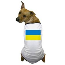 Ukraine Flag Dog T-Shirt