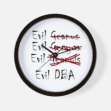 """""""Evil DBA"""" Wall Clock"""