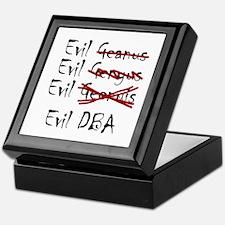 """""""Evil DBA"""" Keepsake Box"""