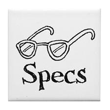 Specs Tile Coaster