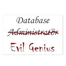 """""""DB Evil Genius"""" Postcards (Package of 8)"""