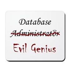 """DB Evil Genius"" Mousepad"