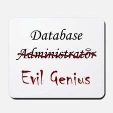 """DB Evil Genius"" Mousepad"