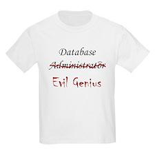 """""""DB Evil Genius"""" Kids T-Shirt"""