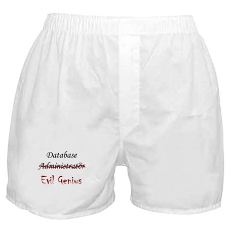 """DB Evil Genius"" Boxer Shorts"