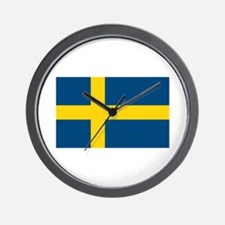 Sweden Flag Wall Clock